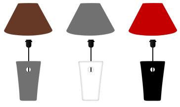 Lampe v g tal avec abat jour lumipouss for Lampe sans abat jour